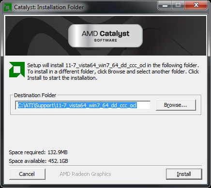 AMD Catalyst 11.7 WHQL Driver Suite