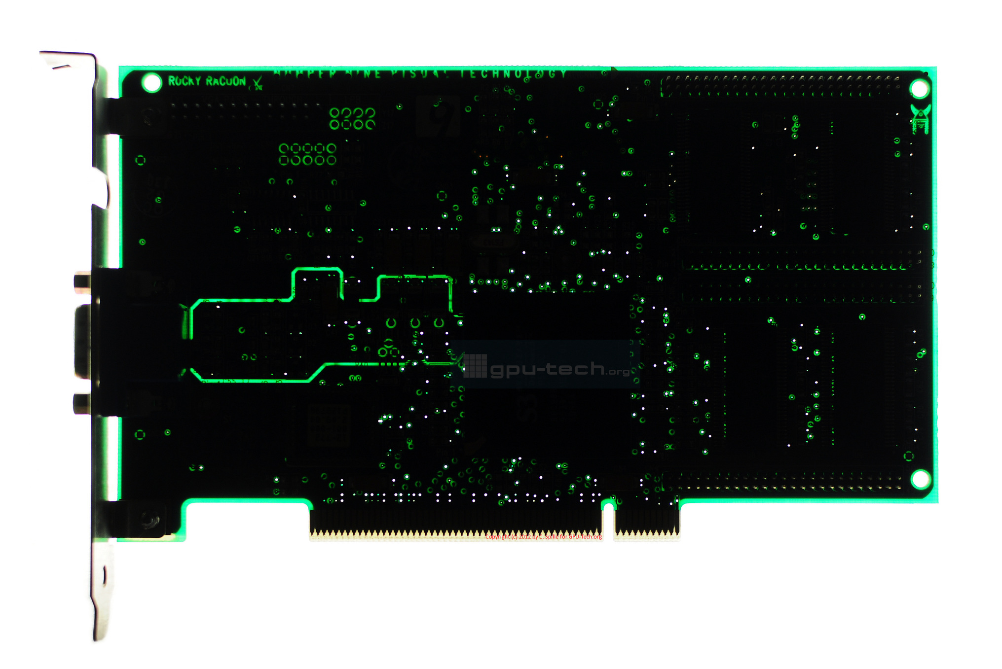 Number Nine Realiy 772 PCI S3 Graphics' ViRGE VX chip Beatles Reference: Rocky Racoon