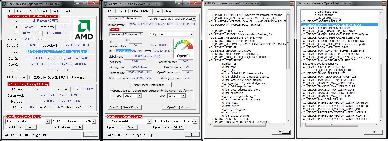 GPU-Tech org - Catalyst 11 7 & AMD APP SDK 2 5 support
