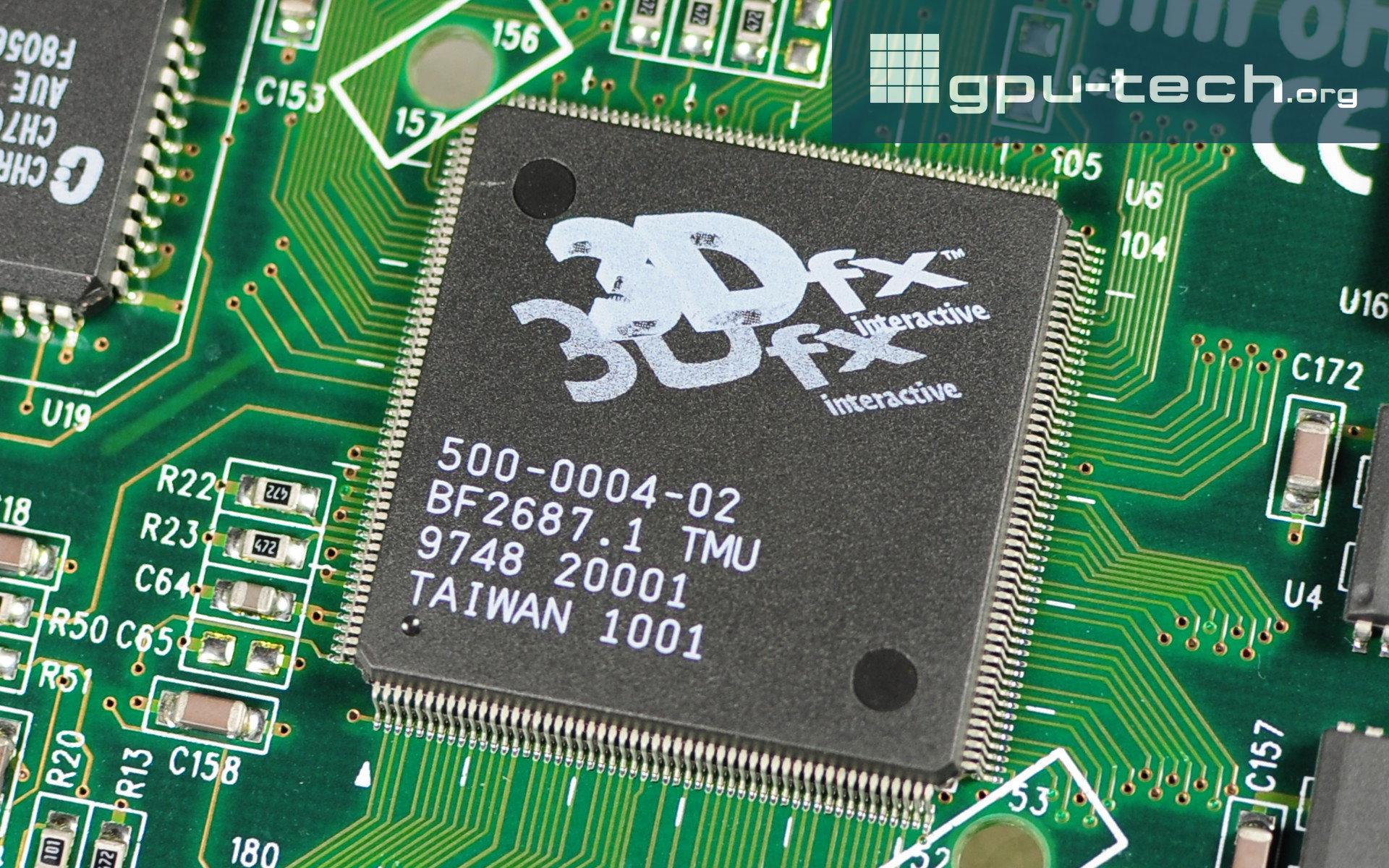 3dfx SST-1 TMU Chip