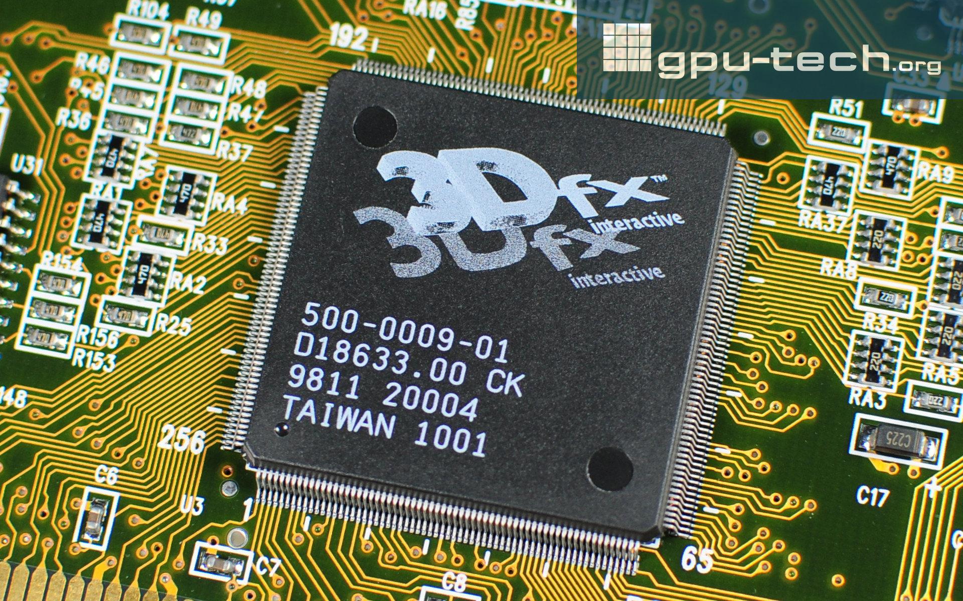 3dfx Voodoo 2: SST-96 Framebuffer Interface