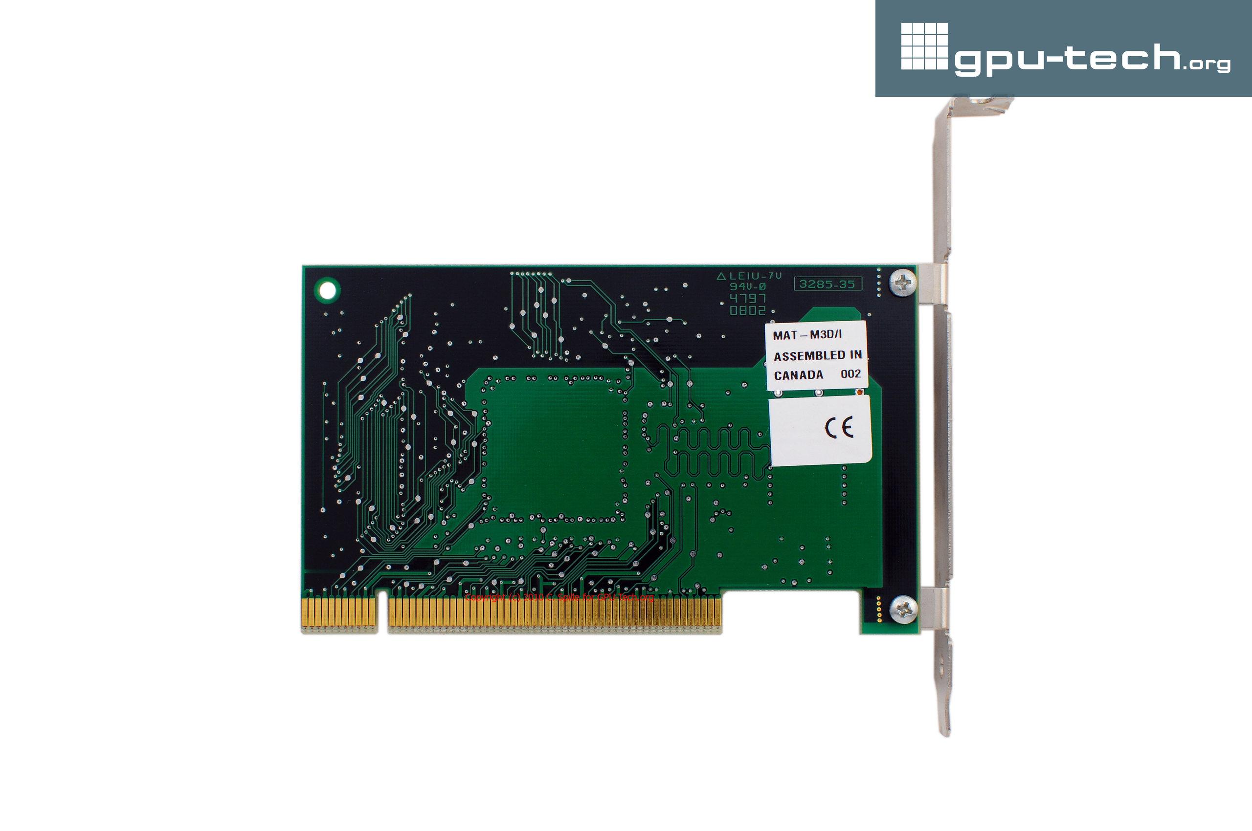 Videologic (PowerVR) Series 1 PCX 2 on Matrox m3D back view