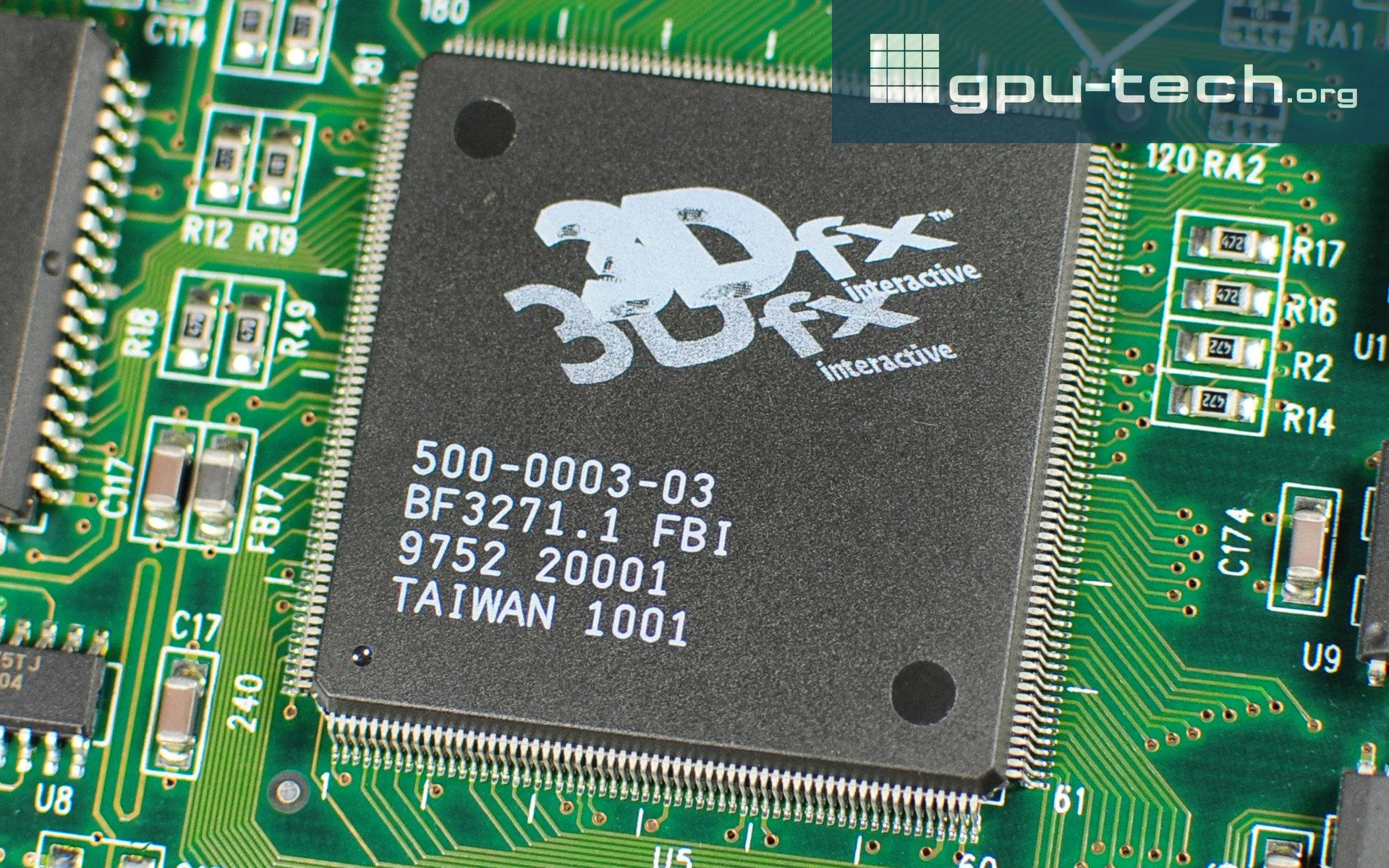 3dfx SST-1 Framebuffer Interface