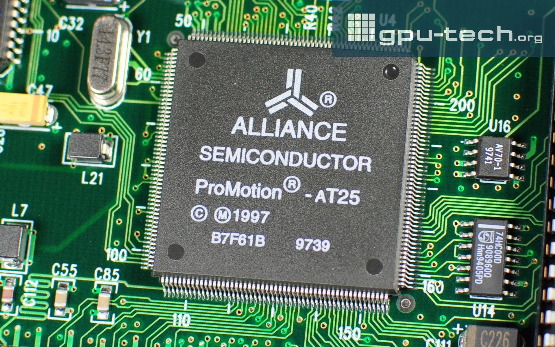 3dfx Voodoo Rush: Alliance ProMotion AT25 (2D)