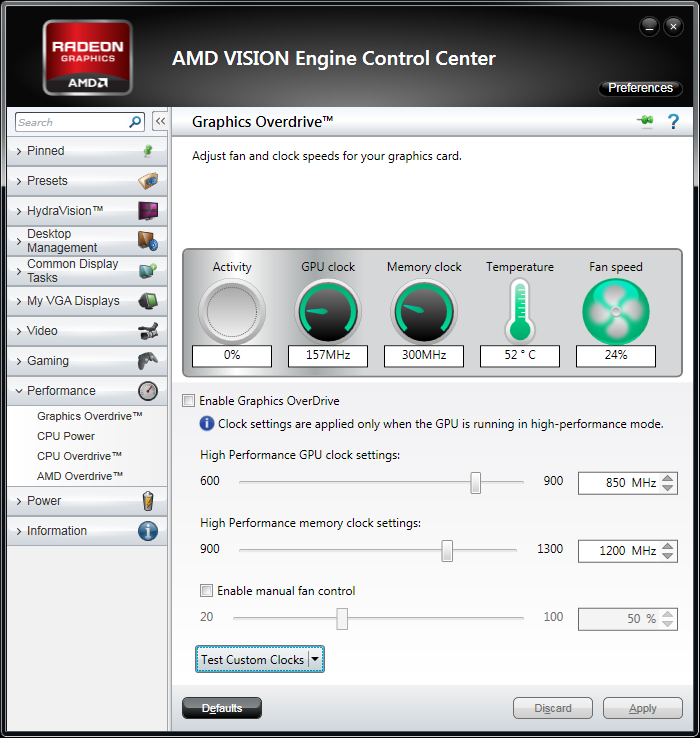 AMD Catalyst 11.10 Preview with newly designed GPU Overdrive