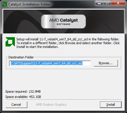 AMD Catalyst 11.7 WHQL Driver Suite